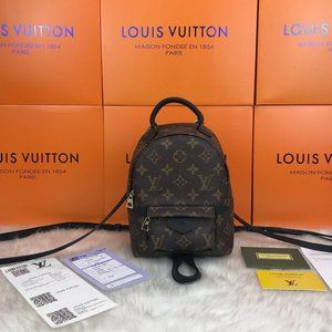%100 Genuine Leather Louis Vuitton Palm Springs PM